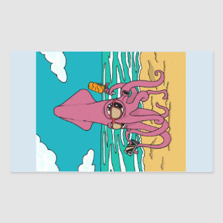 Bro Squid Sticker