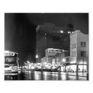 Broad Street at Night Photo Print