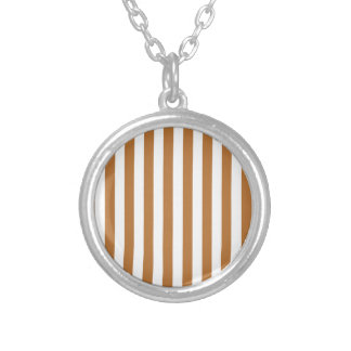 Broad Stripes - White and Copper Custom Jewelry