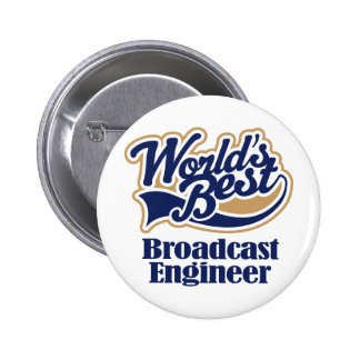 Broadcast Engineer Gift Pins