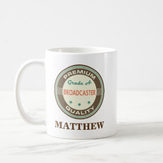 Broadcaster Personalized Office Mug Gift
