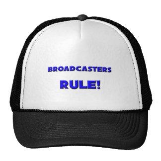 Broadcasters Rule! Mesh Hats