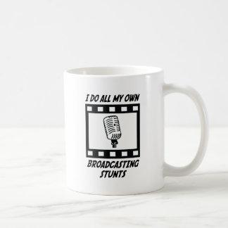 Broadcasting Stunts Coffee Mugs