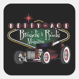 Broads & Rods Sticker