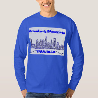 Broadway Blueshirts True Blue Longsleeve T-Shirt