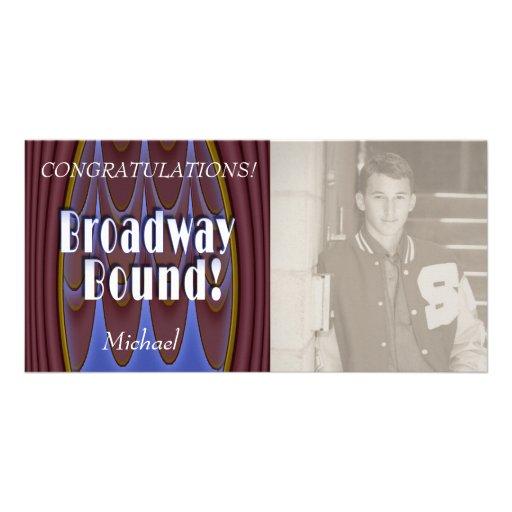 Broadway Bound! Photo Card