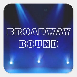 Broadway Bound Sticker