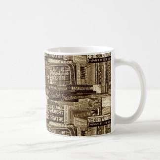 Broadway Coffee Mug (Sepia)
