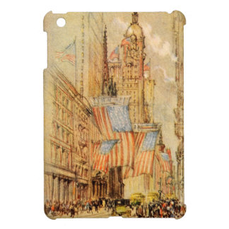 Broadway Election Day Flag New York City Vintage Cover For The iPad Mini