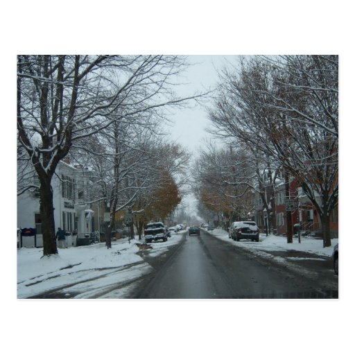 """""""Broadway,Hnover, PA"""" Photo Postcard"""