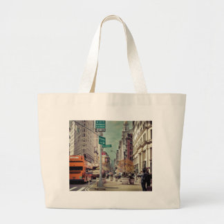 broadway large tote bag