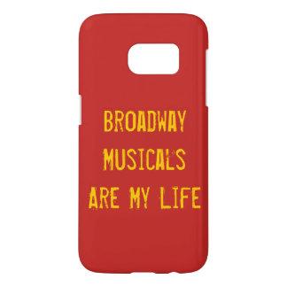 Broadway Musicals Galaxy Case