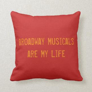 Broadway Musicals Pillow
