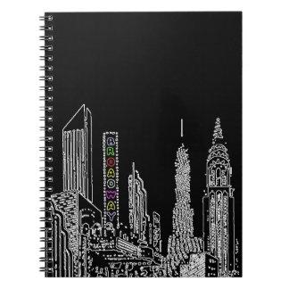 Broadway Nights Note Book