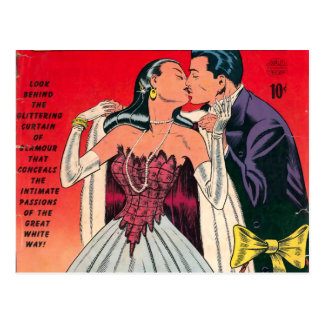 Broadway Romances Comic Book Postcard