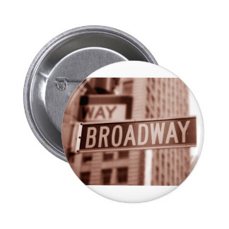 Broadway sign pin