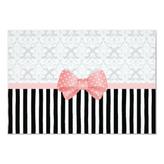 Brocade Dot Stripe Card
