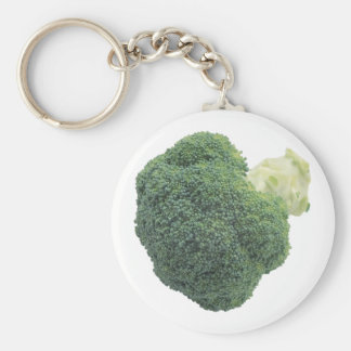 "Broccoli 2.25"" Basic Button Keychain"