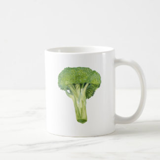 broccoli basic white mug