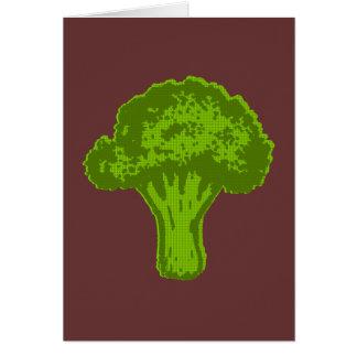 Broccoli Graphic Card