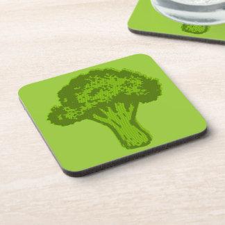 Broccoli Graphic Coaster
