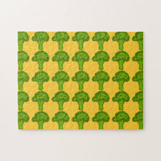 Broccoli Graphic Jigsaw Puzzle