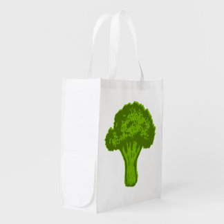 Broccoli Graphic Reusable Grocery Bag