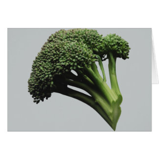 Broccoli Greeting Card, white envelopes included Greeting Card