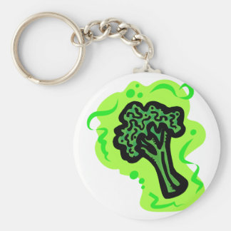 Broccoli Key Ring