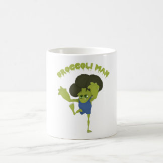 Broccoli Man Coffee Mug