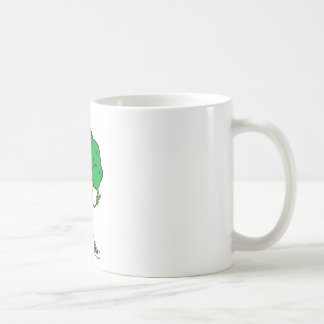 Broccoli rocks! Cool vegetable cartoon Coffee Mug
