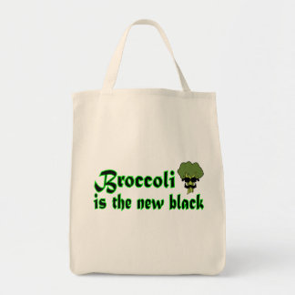 Broccoli - Vegan Vegetarian Grocery Tote