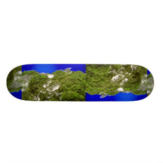 Broccoli with ice on top skateboard deck