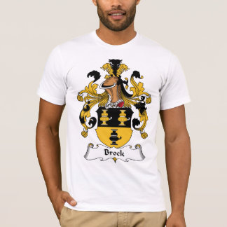 Brock Family Crest T-Shirt