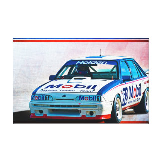 Brock VL Group A Commodore Wrapped Canvas
