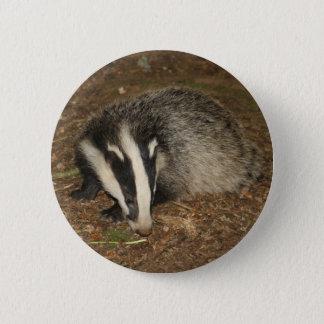 Brockwatch badger badge