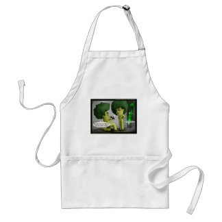 Brocolli Bride Funny Cards Tees Mugs & Gifts Standard Apron