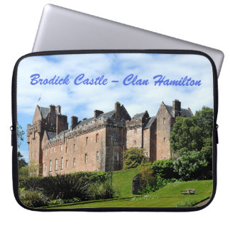 Brodick Castle – Clan Hamilton Laptop Sleeve