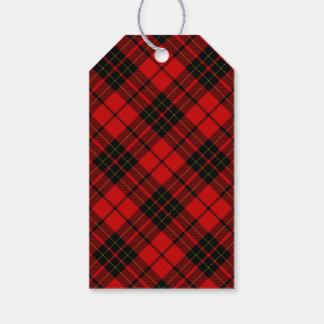 Brodie clan tartan red black plaid