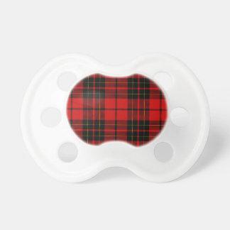 Brodie clan tartan red black plaid dummy