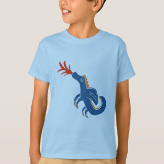 brodie dragon blue 1 T-Shirt