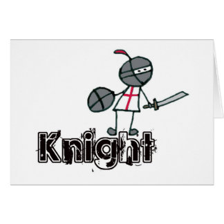 Brodie knight with text card