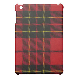 Brodie Red Modern Tartan iPad Case