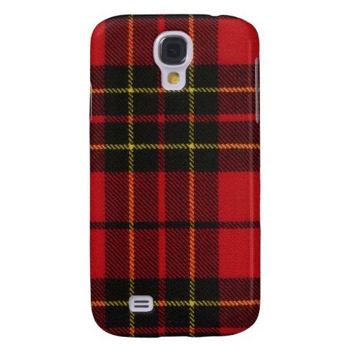 Brodie Red Modern Tartan iPhone 3G/3GS Case Samsung Galaxy S4 Case