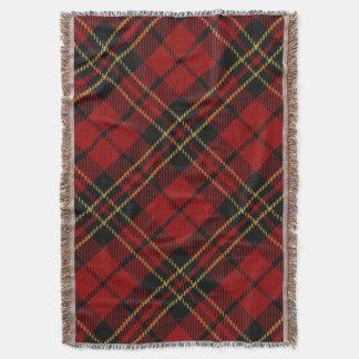 Brodie Tartan Throw Blanket