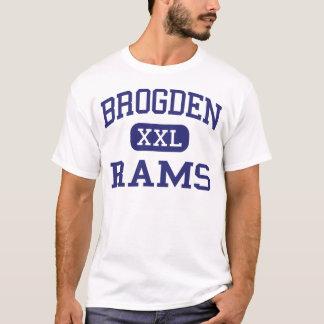 Brogden Rams Middle Dudley North Carolina T-Shirt