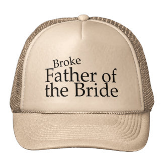 Broke Father of the Bride Hats