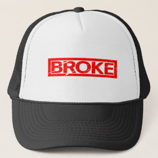 Broke Stamp Trucker Hat