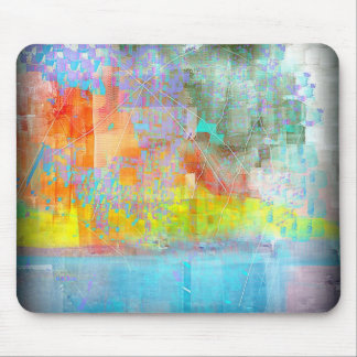 Broken Abstract Mouse Pad