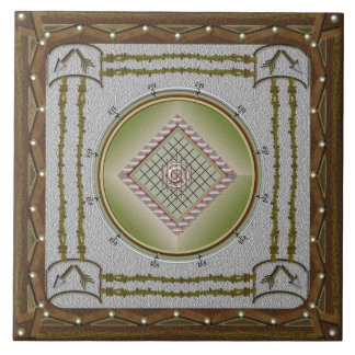 Broken Arrow Ceramic Tile